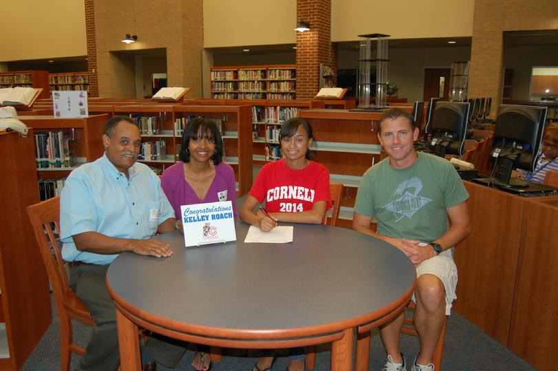 Kelley Roach Signing with Cornell